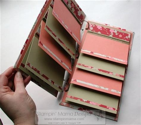 How To Make Photo Album With Paper - the stin store paper bag books trilogy tutorial cd