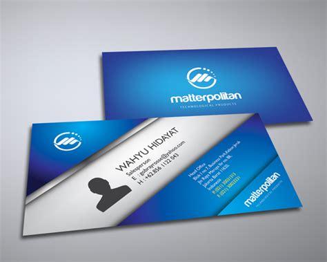 design id card terbaik 8 desain stationery terbaik pilihan sribu com blog sribu