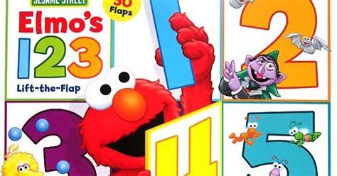 Buku Anak Sesame Neighbourhood Friends Sticker Book giggles sesame elmo s 123 lift the flap board