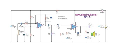 Power Lifier Stk sound circuit diagram free engine image for