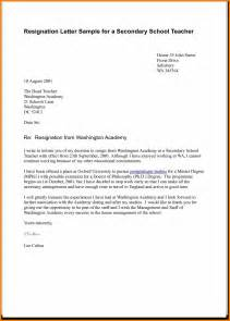 Letter Of Resignation Template Word Uk 5 Resignation Letter Uk Science Resume