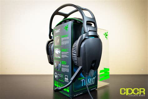 razer tiamat 2 2 gaming headset review custom pc review