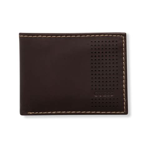 Guess Wallet New 3 lyst guess guess wallets passcase billfold wallet in brown for