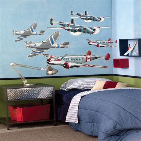 decorating ideas airplane room room decorating ideas