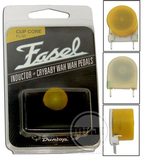 vs yellow fasel inductor mojo pedal parts 187 fasel yellow inductor for wah pedal