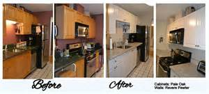 refinishing kitchen cabinets before and after lighthouse