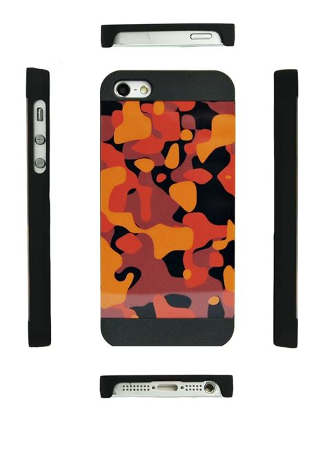 Iphone 5 5s Se Adidas Camo Pattern Hardcase iphone 5 5s se brown camo pattern combocases
