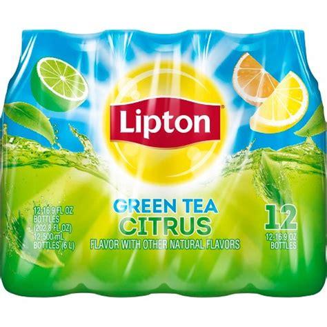 Teh Lipton Green Tea lipton citrus iced green tea 16 9 oz 12 pk target