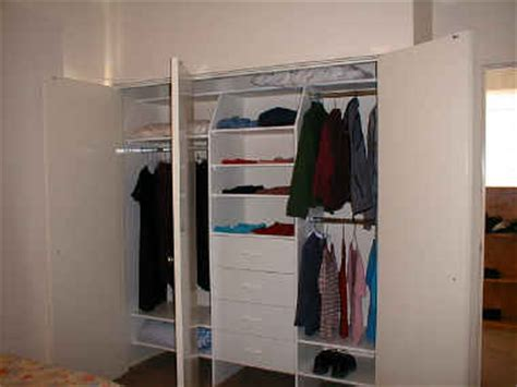 Flat Pack Wardrobe Inserts by Bedroom Wardrobe Inserts And Storage Solutions For Home