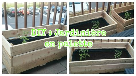 Fabriquer Jardiniere En Palette by Diy Jardini 232 Re En Palette