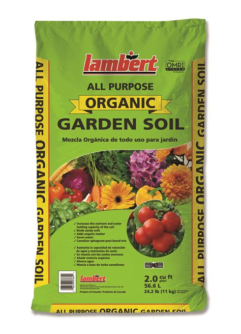 All Purpose Organic Garden Soil Lambert Organic Vegetable Garden Soil