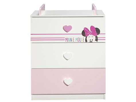 Commode Minnie by Commode 224 Langer Disney Minnie Mouse Chez Conforama