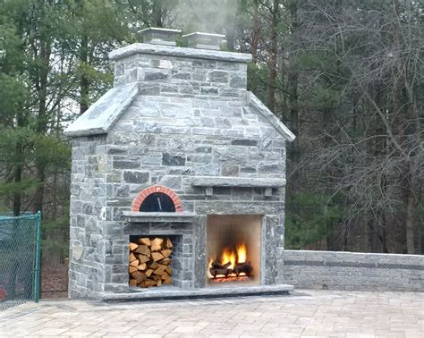 Oven Fireplace by Image Gallery Outdoor Fireplace And Oven