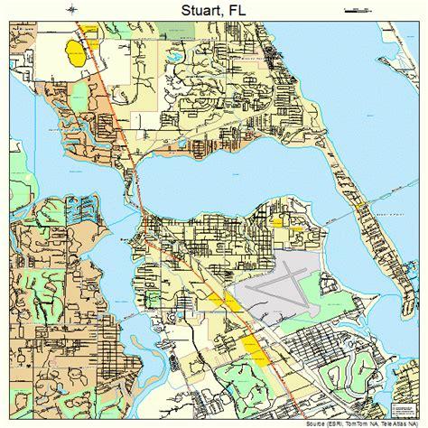 where is stuart florida on the map stuart florida map 1268875
