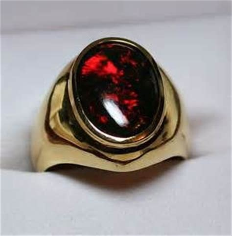 Batu Black Opal Siap Naik Ring 4 black opal rings for images rings watches jewelry for gold