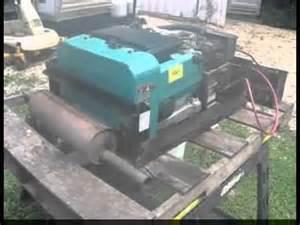 onan emerald plus generator running outside an rv