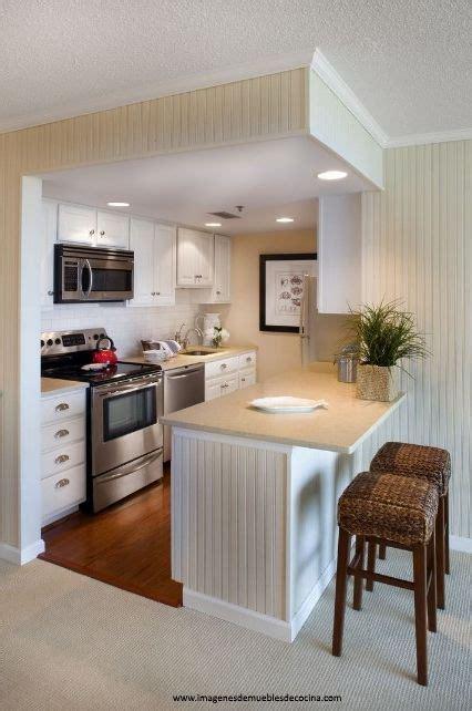 amoblamientos de cocina pequenas bonitas muebles de