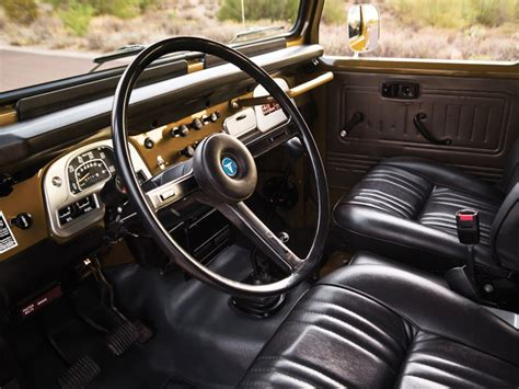 classic land cruiser interior 1977 toyota fj40 land cruiser