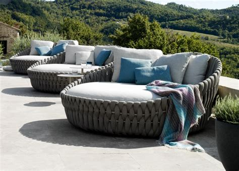 tribu tosca garden day bed tribu outdoor furniture at go