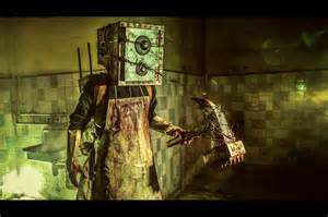 the from the the keeper boxman from the evil within by