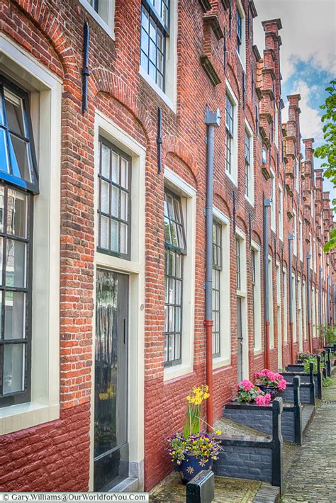 Wonderful Almshouses by Take A Detour To Haarlem Netherlands Our World For You
