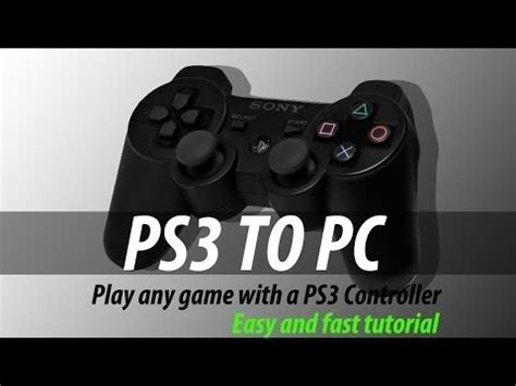 motioninjoy tutorial windows 10 how to connect a ps3 controller to pc on windows 10