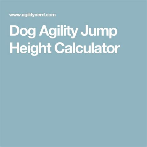 puppy height calculator 1000 ideas about agility on agility and your