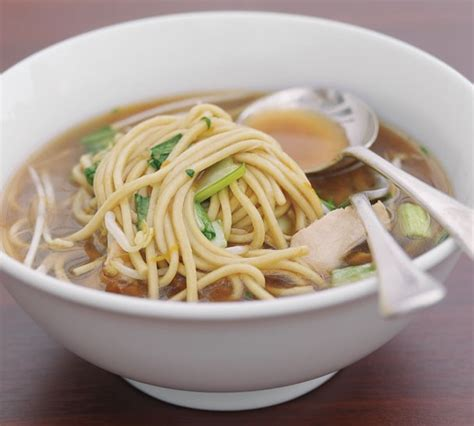 miso chicken  noodle bowl annabel langbein recipes