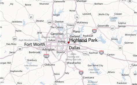 map of highland park texas gu 237 a urbano de highland park texas