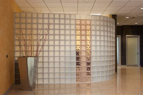 interion partitions interior partition walls cincinnati glass block