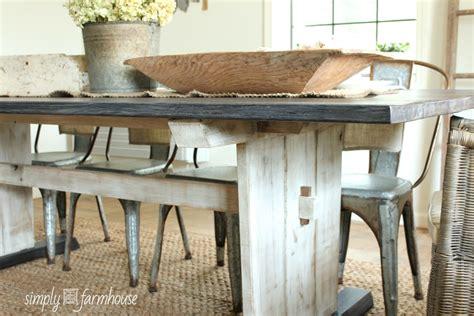 Gray Farmhouse Table by Gallery Simply Farmhouse