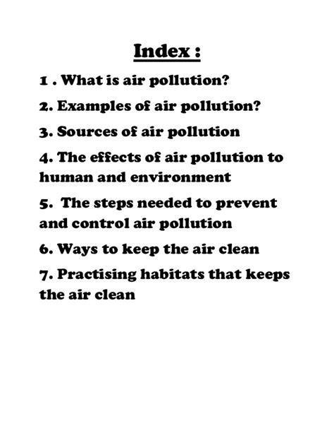 How To Prevent Air Pollution Essay by Ways Reduce Air Pollution Essay Docoments Ojazlink