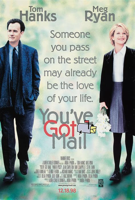 Youve Got Mail 1998 Film You Ve Got Mail Poster F I L M Y K E E D A