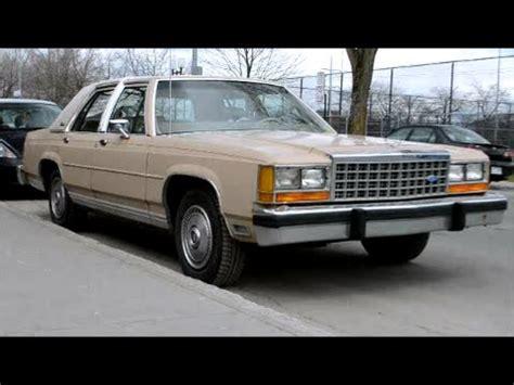 manual repair autos 1985 ford ltd crown victoria security system 1985 ford ltd crown victoria sedan sighting youtube