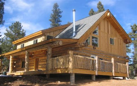 build your own home cost log home building school