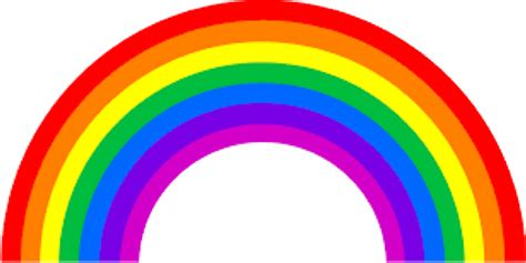 Pictures Of Rainbows To Color by Vibgyor Rainbow Color Codes 187 Webnots