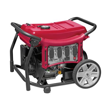 powermate cx series 8 000 watt gasoline powered electric