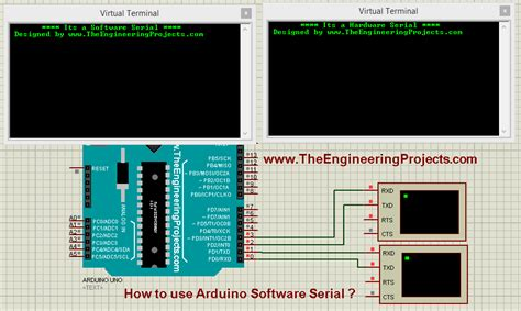 serial use how to use arduino software serial the engineering