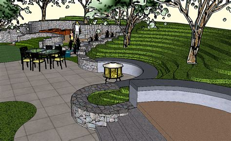 home design 3d outdoor and garden tutorial image gallery sketchup landscape