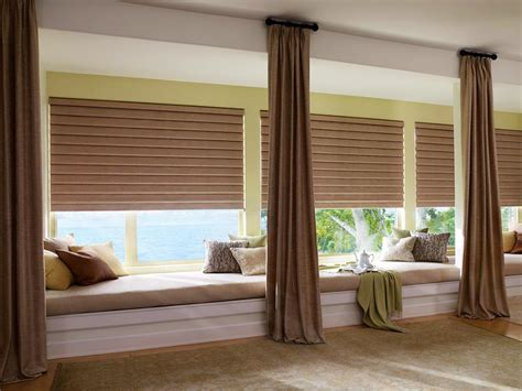 window covering for large windows best blinds for large windows window treatments design ideas