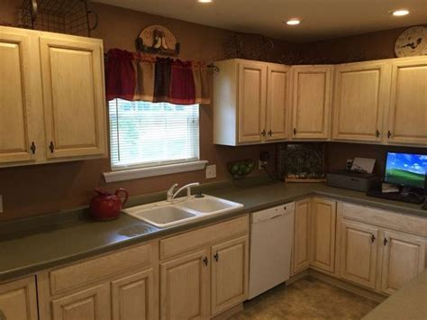 milk paint on kitchen cabinets kitchen cabinets makeover with milk paint hometalk