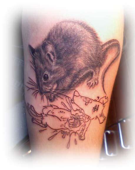 pinky and the brain tattoo and the brain by lillithmorgain on deviantart