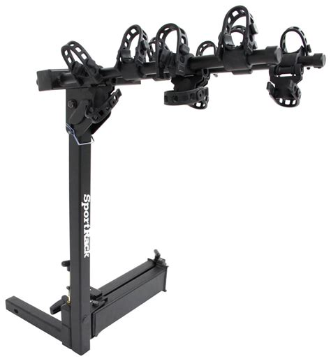 swinging bike rack hitch sportrack ridge swing 4 bike rack 2 quot hitches swinging