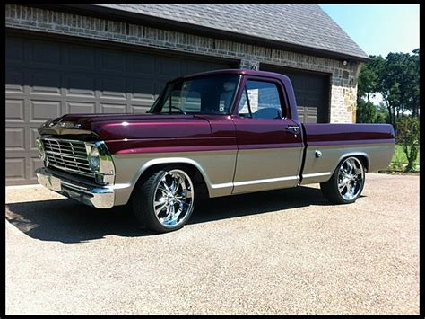 t268 1 1968 ford f100 390 350 hp automatic photo 1 ford trucks ford