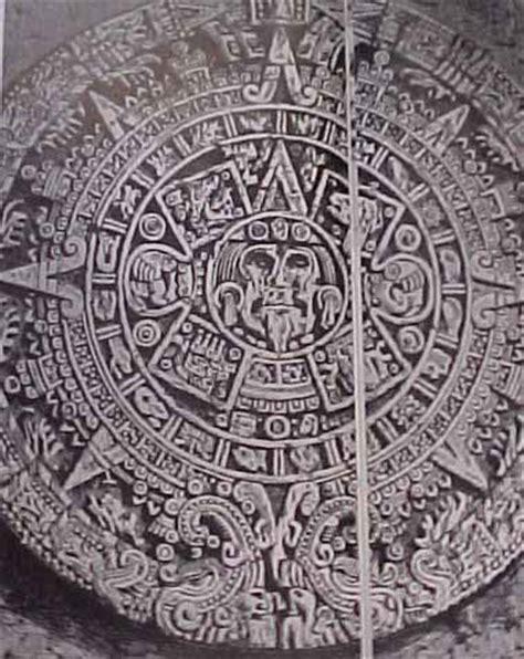 Calendario Y Azteca El Mismo Almanaques Y Calendarios Calendario Azteca