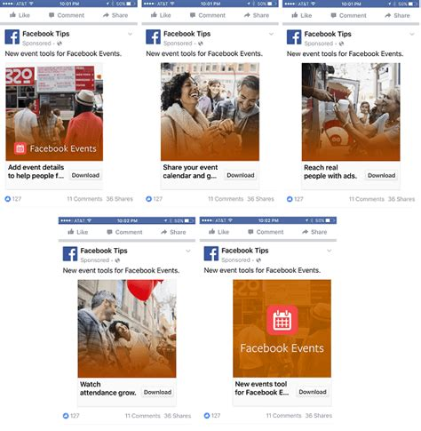 format video fb facebook carousel content how to make your posts and ads
