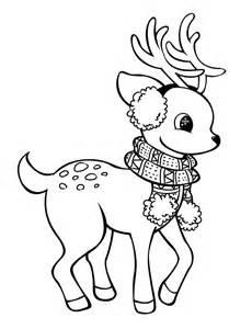 reindeer lineart by rpgirl on deviantart
