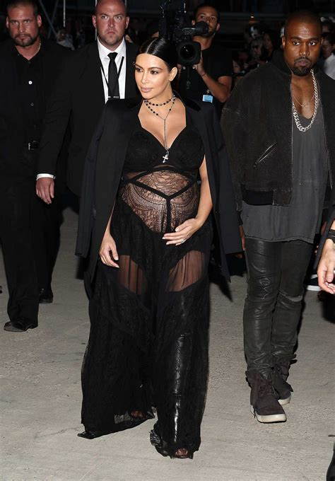 Kanye And Rock The Givenchy Show by And Kanye West At Nyfw Givenchy Fashion