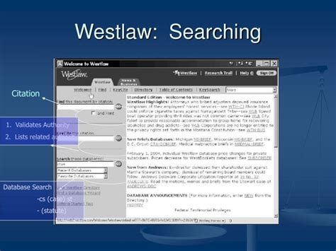 Westlaw Search Ppt Chapter 10 Accessing Authority Powerpoint Presentation Id 6133795
