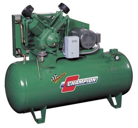 air compressor works